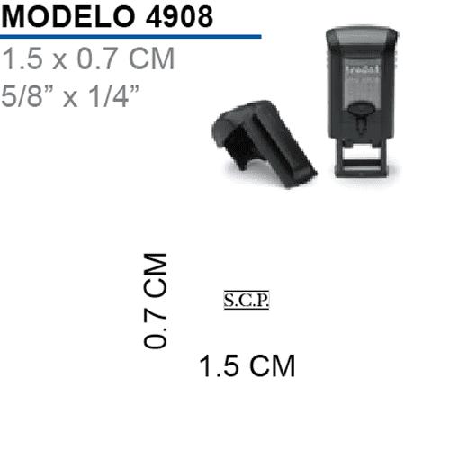 Sello-Autoentintable-Printy-4908-Negro