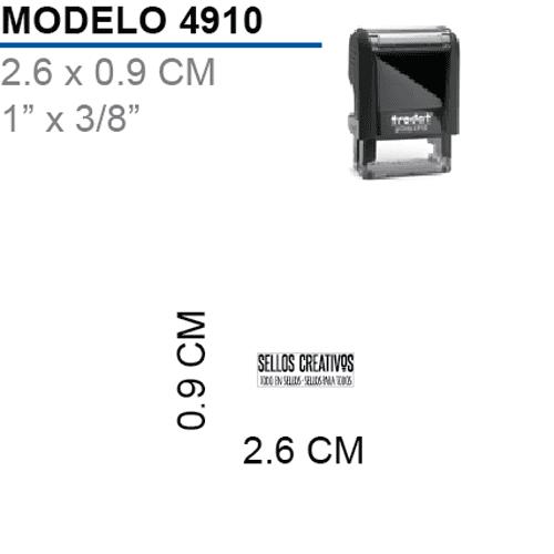 Sello-Autoentintable-Printy-4910-Negro