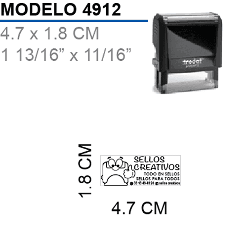 Sello-Autoentintable-Printy-4912-Negro