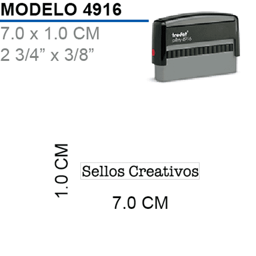 Sello-Autoentintable-Printy-4916-Negro