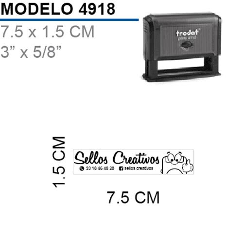 Sello-Autoentintable-Printy-4918-Negro