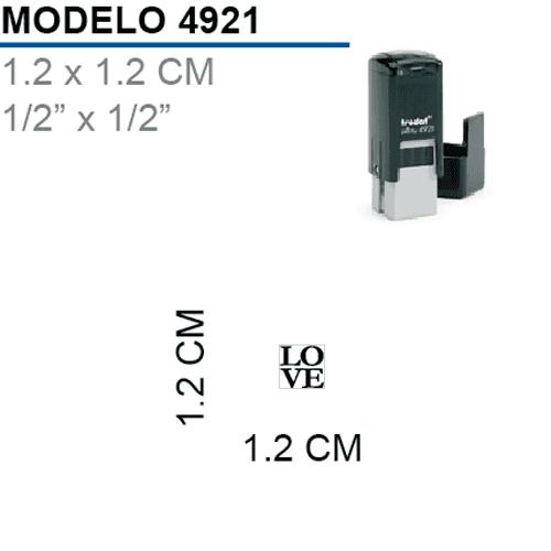 Sello-Autoentintable-Printy-4921-Negro