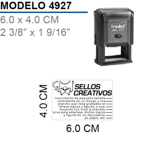 Sello-Autoentintable-Printy-4927-Negro