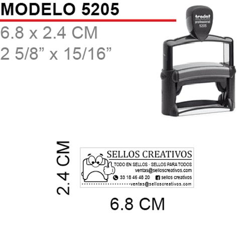 Sello-Autoentintable-Trodat-5205-Negro