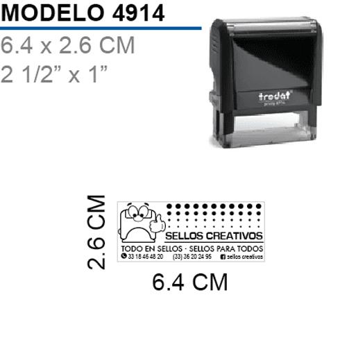 Sello-Autoentitable-Printy-4914-Negro