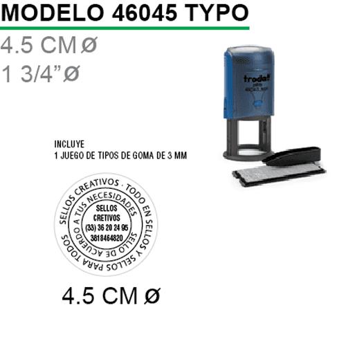 Sello-Autoentintable-46045-Typo-Negro