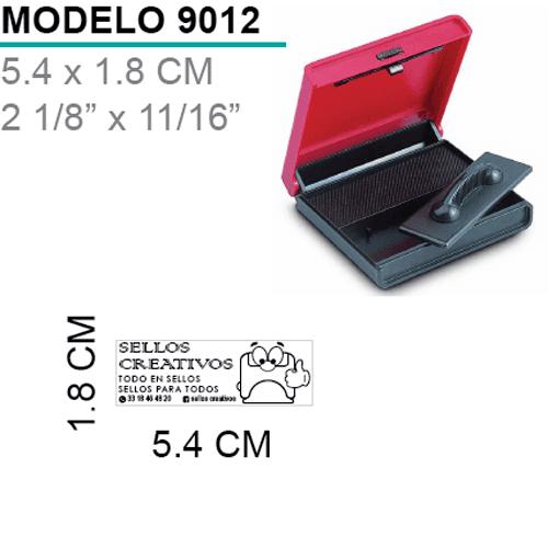 Sello-almohadilla-9012-Negro