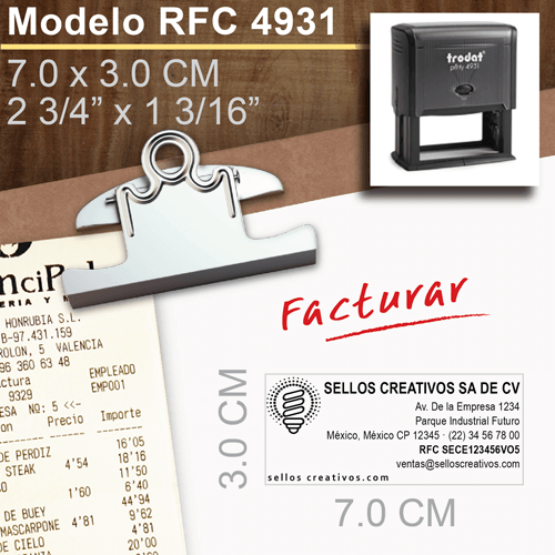 Sellos-con-datos-fiscales- RFC-Trodat-9431